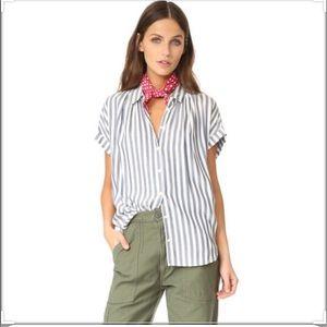 Madewell Women's Center Button Up Shirt